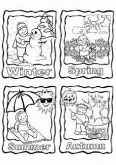 teaching worksheets seasons