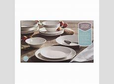 Berkley Jensen 16 Pc. Porcelain Dinnerware Set   BJ's