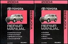 free online auto service manuals 2004 toyota sequoia engine control 2004 toyota sequoia repair shop manual original set