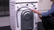 samsung addwash aufstellen der waschmaschine