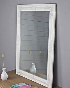 spiegel weiss spiegel wei 223 antik 82x62 cm holz neu wandspiegel barock