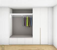 garderobenschrank design aktueller garderobenschrank entwurf grauer r 252 ckwand