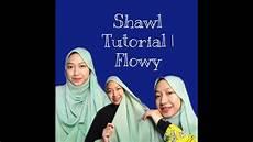 Raya Shawl Tutorial Flowy Dan Labuh