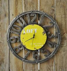 Retro Vintage Classic Disc Wall Clock by American Countryside Zakka Do The Retro Wall