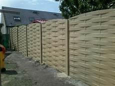 palissade jardin beton cl 244 ture en b 233 ton palissade de jardin marne