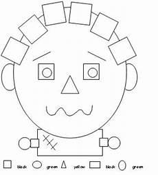 color by number shapes worksheets 16248 learning printables for children