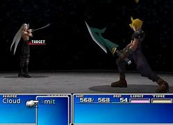 Image result for Sephiroth Final Battle