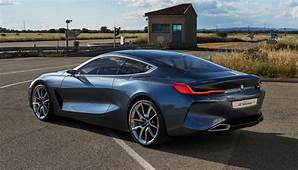 2018 BMW 8 Series Spied At Factory With 850i Badge