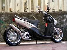 Modifikasi Motor Matic Mio Sporty by Modifikasi Motor Matic Mio Sporty Minimalist Low Rider