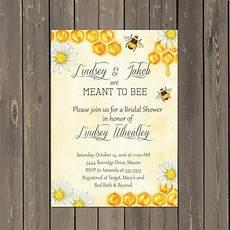 Bumble Bee Wedding Invitations
