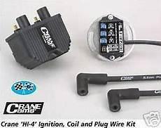 Harley S S Crane Hi 4 Fireball Single Ignition Kit