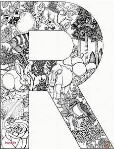 Ausmalbilder Buchstaben Mit Tieren Ausmalbilder Buchstaben Tiere Carsmalvorlage Store