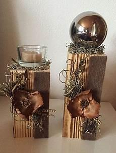 weihnachtsdeko aus alten brettern altholz holz deko herbst natur deco wooden