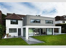 Pretentious White and Neutral Decorating Modern Residence