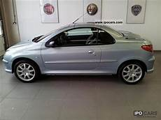 2004 peugeot 206 cc 1 6 16v 110 platinum car photo and specs