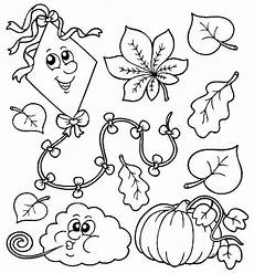 Ausmalbilder Herbst Blatt Print Fall Coloring Pages Benefit Of