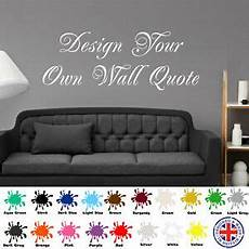wall sticker design your own personalised wall design your own quote mural