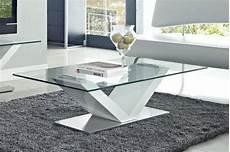 table basse en verre blanc id 233 es de d 233 coration