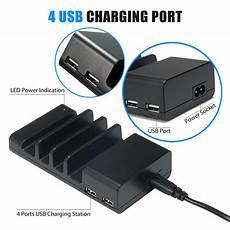 ladestation iphone 4 4 port multi usb charging station stand desktop charger