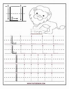 printable letter a tracing worksheets for preschool 24673 printable letter l tracing worksheets for preschool education tracing worksheets