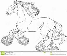 Ausmalbilder Pferde Shire Coloring Book Stock Vector Illustration Of Pony