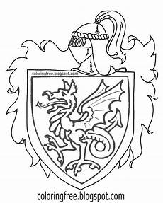 shield coloring pages at getcolorings free