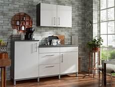 Küche Komplett Mit E Geräten - k 252 chenblock 180 cm mit e ger 228 ten komplett wei 223 hochglanz