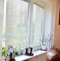 Gardinen Stricken Muster - 17 best images about curtains and tie backs to crochet on