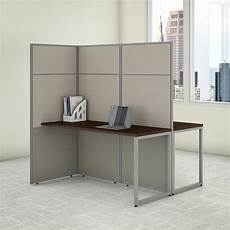 two person desk home office furniture bush business furniture easy office 60w 2 person cubicle