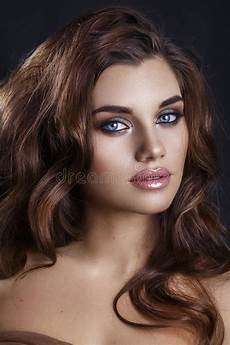 fashion glamour makeup beauty model girl with glamor make