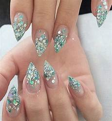 beautiful almond marble nails designs 2019 page 49
