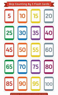 skip counting by 50s worksheets 12075 free printable skip counting by 5 flash cards them in pdf format at http