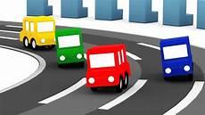 4 Kleine Autos - lehrreicher zeichentrickfilm die 4 kleinen autos