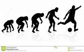 Evolution Of A Soccer Player Stock Vector  Illustration