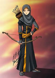 Koleksi Gambar Kartun Muslim Dan Muslimah Infokini