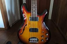 Sold Lakland Skyline Hollowbody Bass W Bartolini S