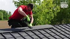 couverture abri jardin comment poser easy tuile linea sur votre toit abri de