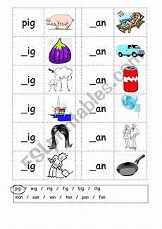 phonics 3 letter words worksheets 23370 phonics 3 letter words cvc writing ig an esl worksheet by matthew elsp