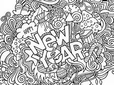 Neujahr Malvorlagen New Year S 2017 Coloring 1 1 1 1