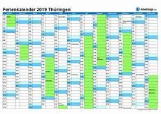 ferien thüringen 2019 kalender jahreskalender 2019 schulferien und gesetzliche feiertage