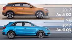2017 Audi Q2 Vs 2017 Audi Q3 Technical Comparison