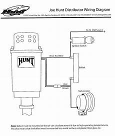 wiring diagram for joe hunt hei distributor alkydigger technical info