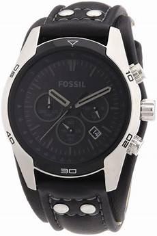 fossil sports ch2586 schwarzer herren chronograph