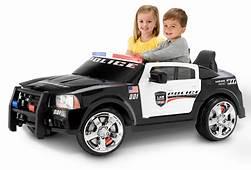 Kid Trax Dodge Pursuit Police Car 12 Volt Battery Powered