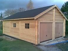 atelier en bois en kit construction en bois massif