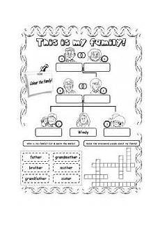 family worksheets free 18612 this is my family 2 esl worksheet by kita19