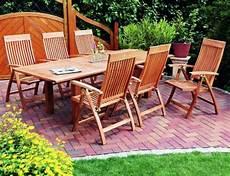 Gartenmöbel Set Holz - g 252 nstige gartenm 246 bel sets gartenm 246 bel set aus holz 6