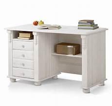 Schreibtisch Im Landhausstil Kiefer Wei 223 Gewachst
