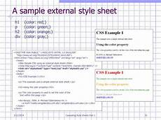 ppt cascading style sheets part 1 powerpoint presentation id 345825