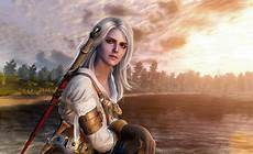 Ciri The Witcher - ciri with hair witcher